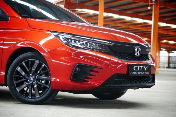 Honda City Hatchback Debuts in Indonesia 2