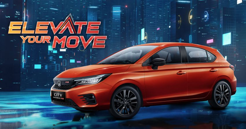Honda City Hatchback Debuts in Indonesia 1