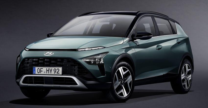 Hyundai Unveils Bayon Crossover SUV 1