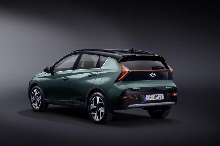 Hyundai Unveils Bayon Crossover SUV 5