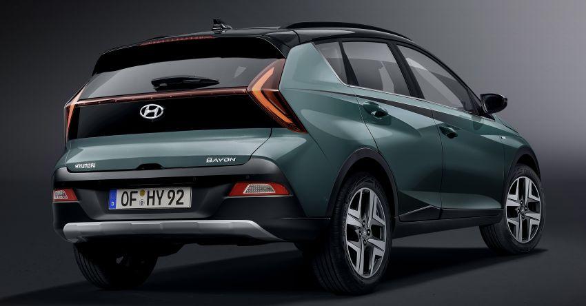 Hyundai Unveils Bayon Crossover SUV 3