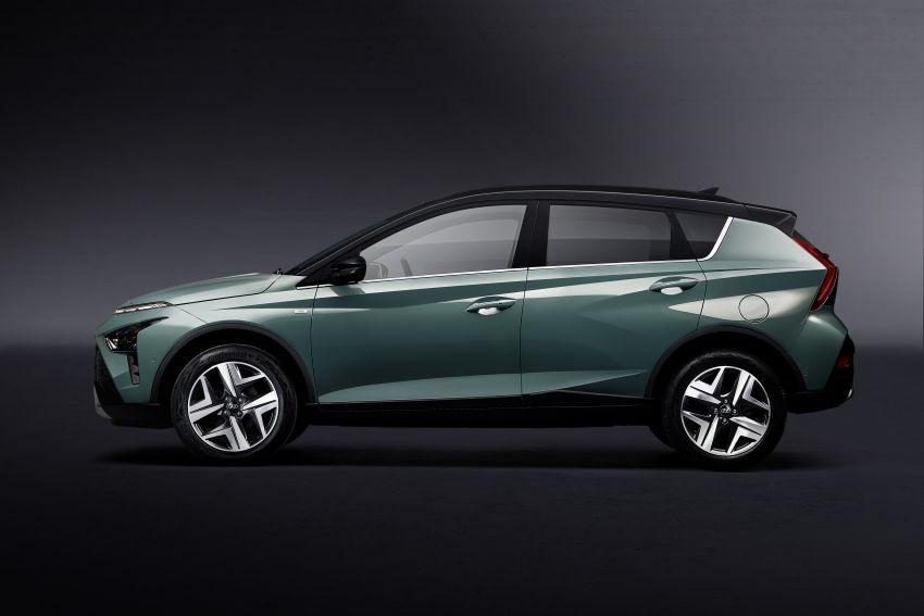 Hyundai Unveils Bayon Crossover SUV 2