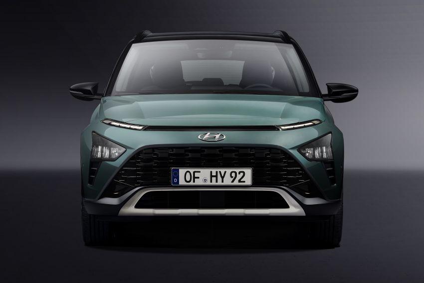 Hyundai Unveils Bayon Crossover SUV 6