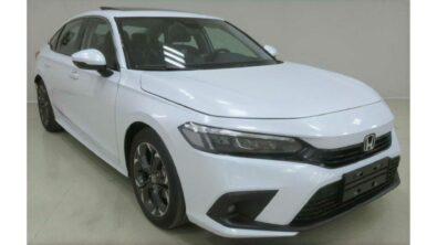 Production-Spec 2022 Honda Civic Leaked 1
