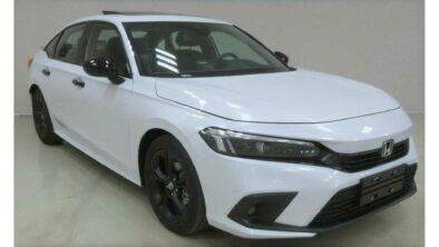 2022 Honda Civic Spotted Again 5