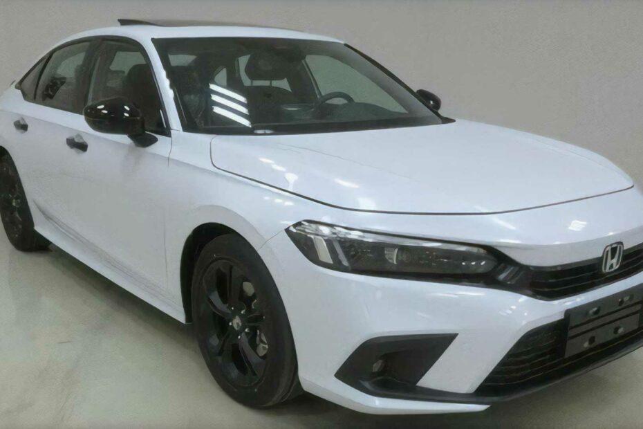 Production-Spec 2022 Honda Civic Leaked 2