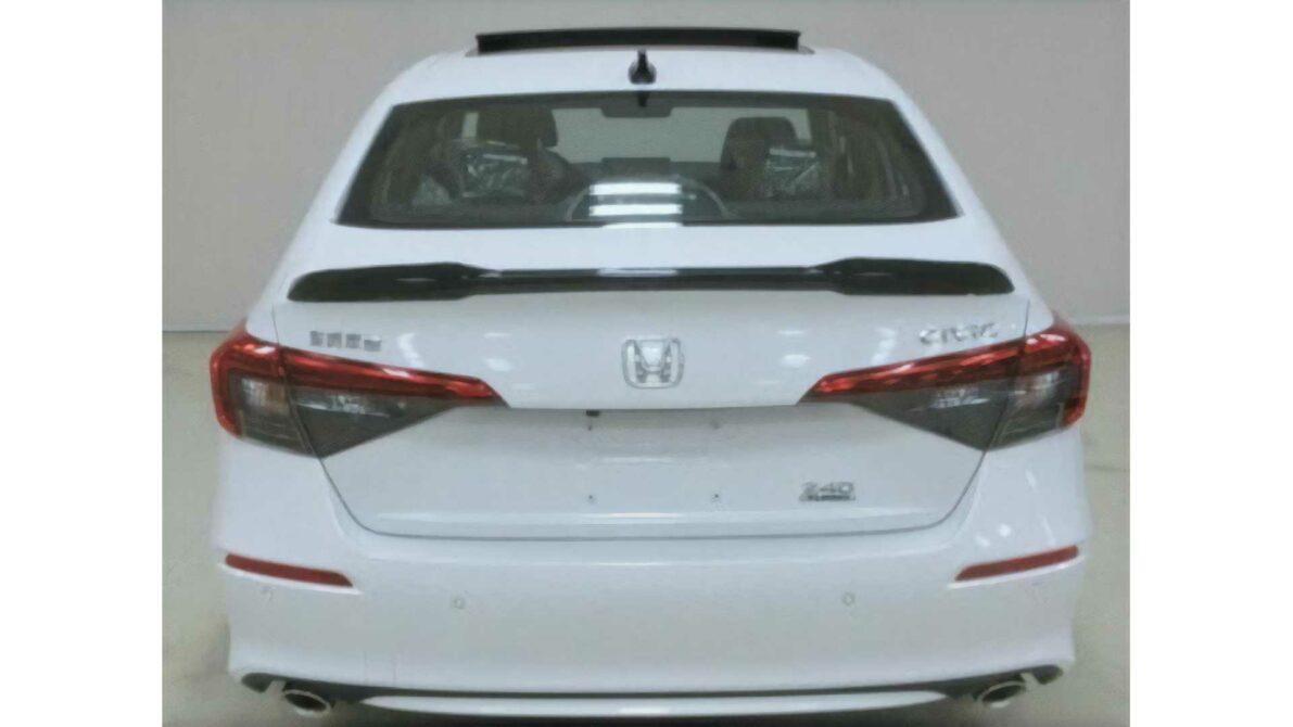 2022 Honda Civic Spotted Again 6