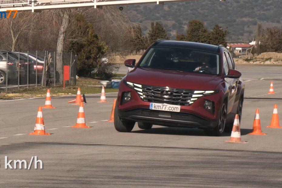 New Hyundai Tucson Takes the Dreaded European Moose Test 2