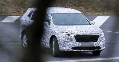 Next Generation Honda CR-V Spotted Testing 2