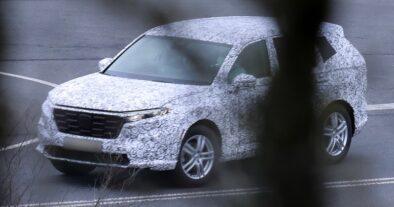 Next Generation Honda CR-V Spotted Testing 3