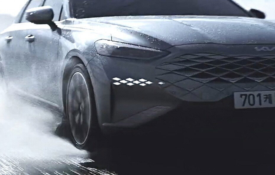 First Video Teaser of KIA K8 Sedan 5