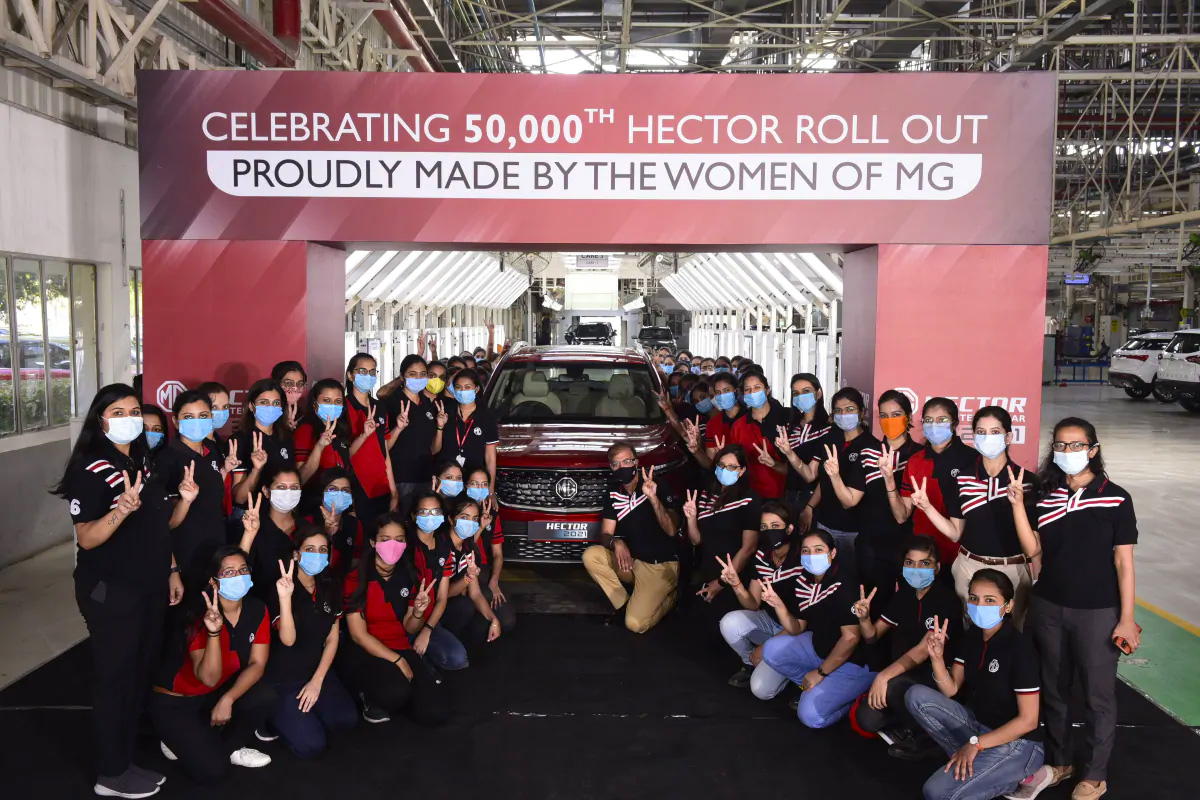 MG Records Highest-Ever Production, Bookings and Sales in India 2