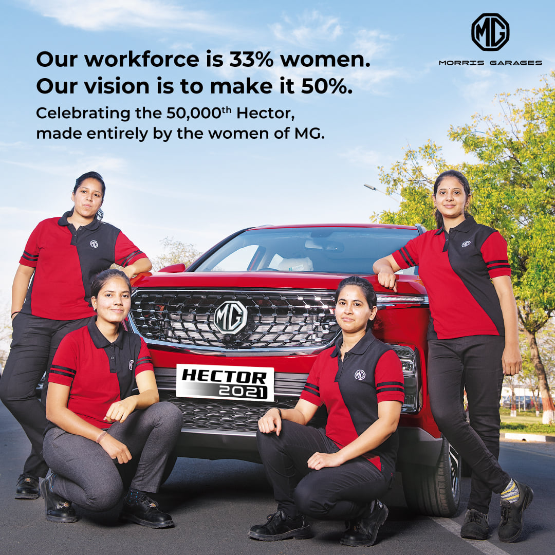 MG Records Highest-Ever Production, Bookings and Sales in India 3