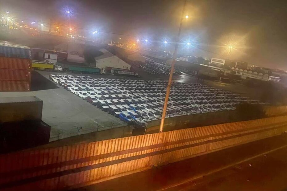 MG Cars cleared at Karachi Port 6