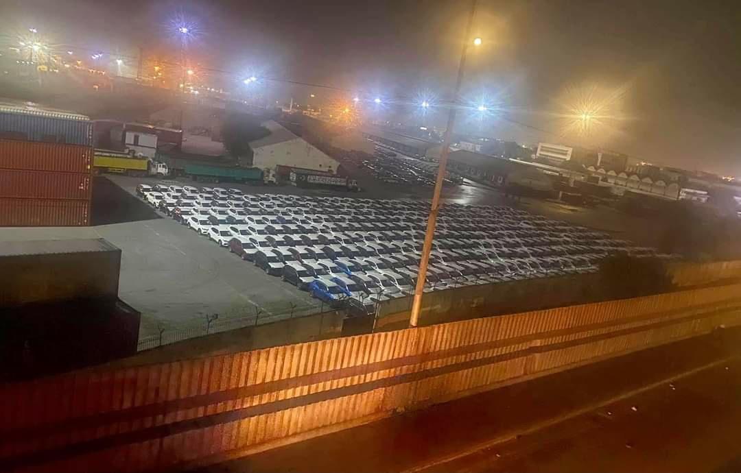 MG Cars cleared at Karachi Port 1