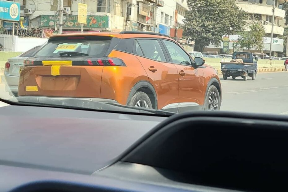 Peugeot 2008 Spotted in Karachi 9