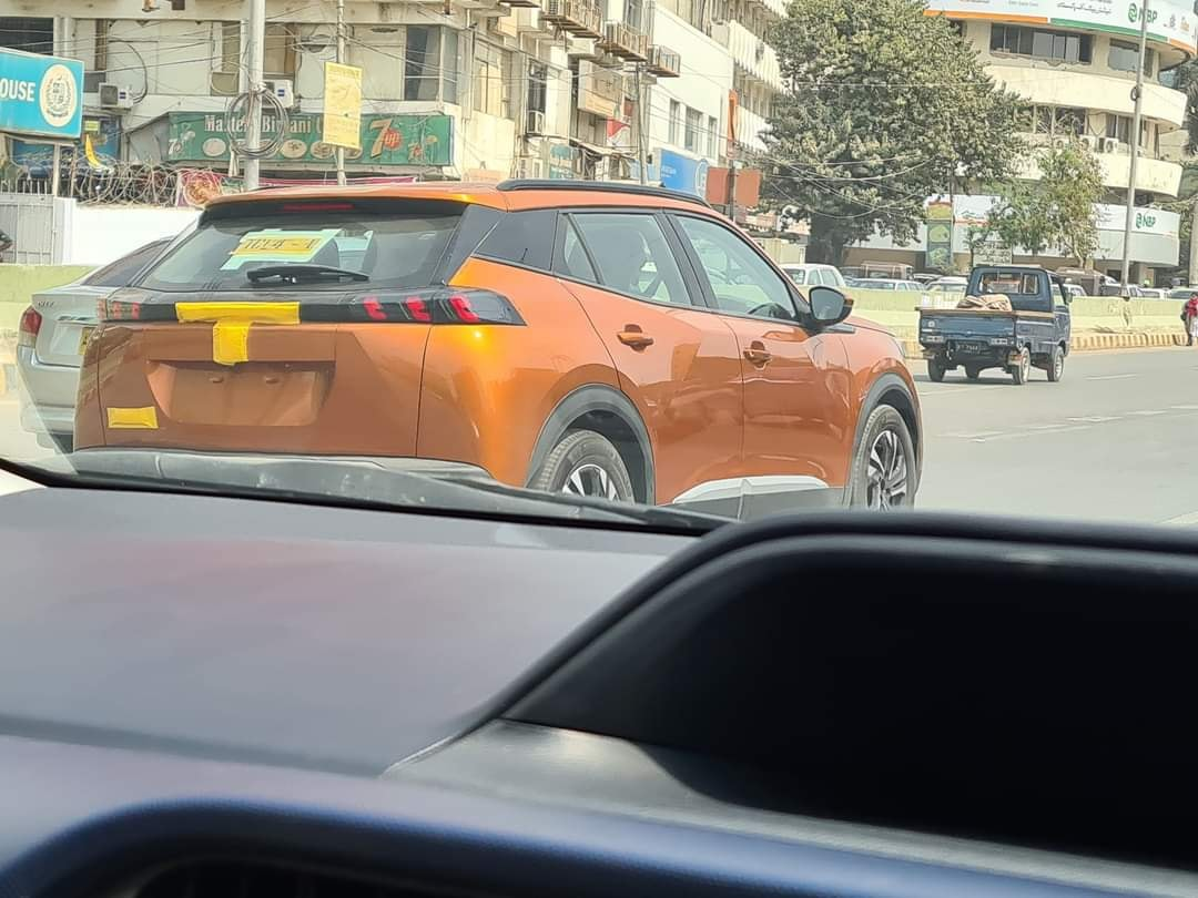 Peugeot 2008 Spotted in Karachi 1