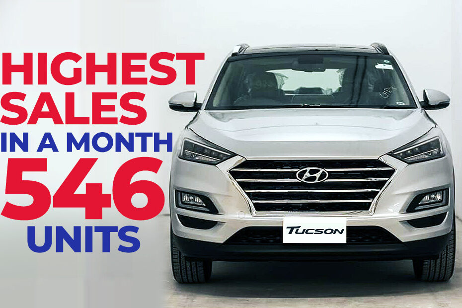 Hyundai Tucson Records Highest Sales in a Month 3