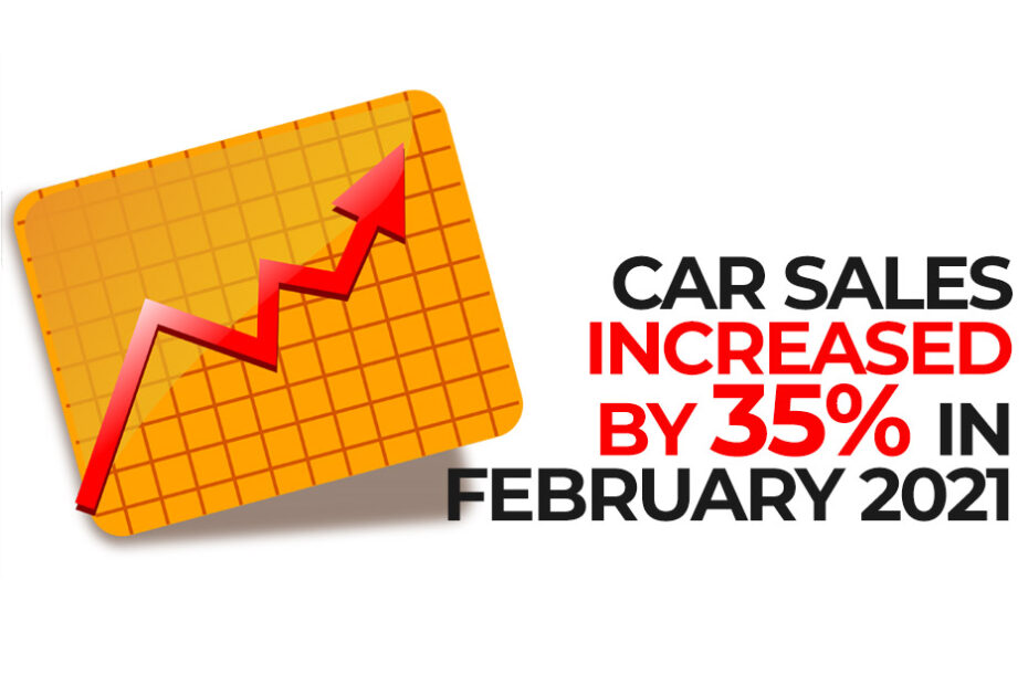 Car Sales Increased by 35% in February 2021 7