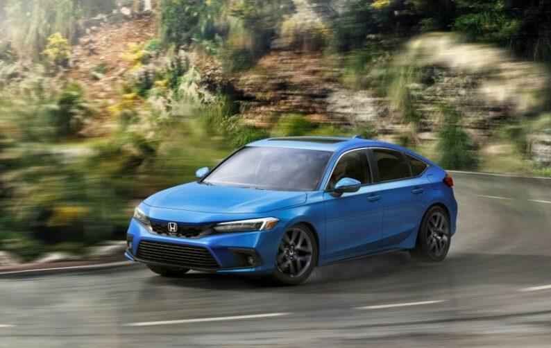 11th Gen Honda Civic Hatchback Debuts 17