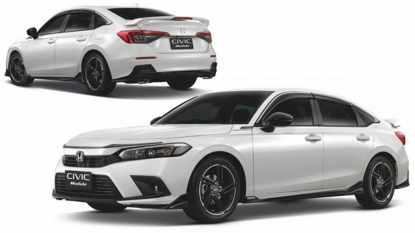 2022 Honda Civic Modulo Thailand 1 e1628256765134 850x485 1