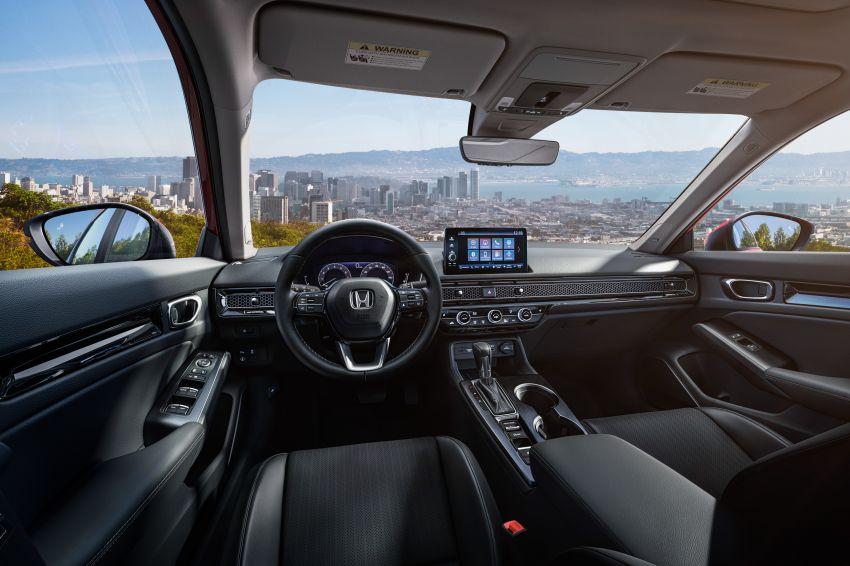 2022 Honda Civic official debut 11 850x566 1