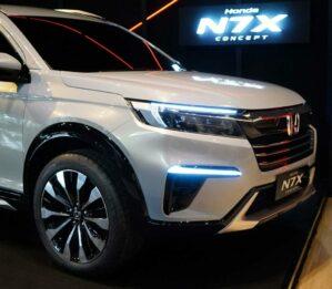 Honda N7X (Next Gen BR-V) Patent Drawings Leaked 10