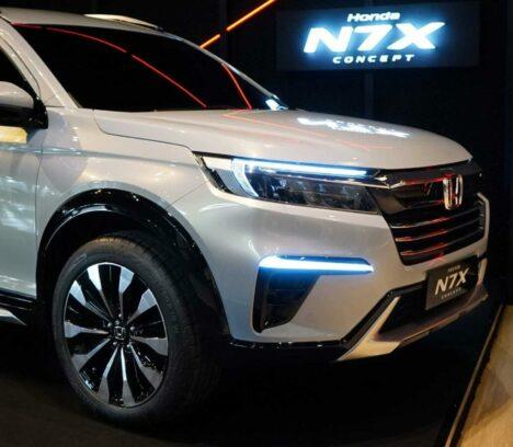 Honda N7X (Next Gen BR-V) Real World Images & Details 2