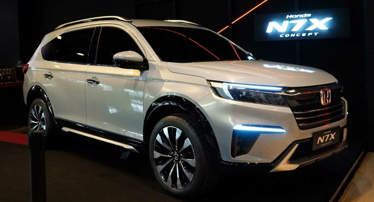 Honda N7X (Next Gen BR-V) Patent Drawings Leaked 12