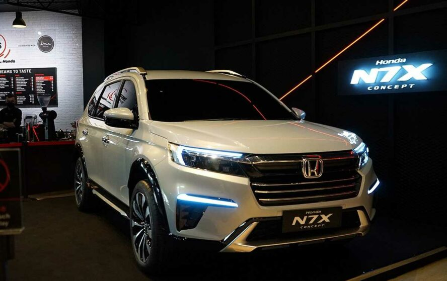 Honda N7X (Next Gen BR-V) Patent Drawings Leaked 9