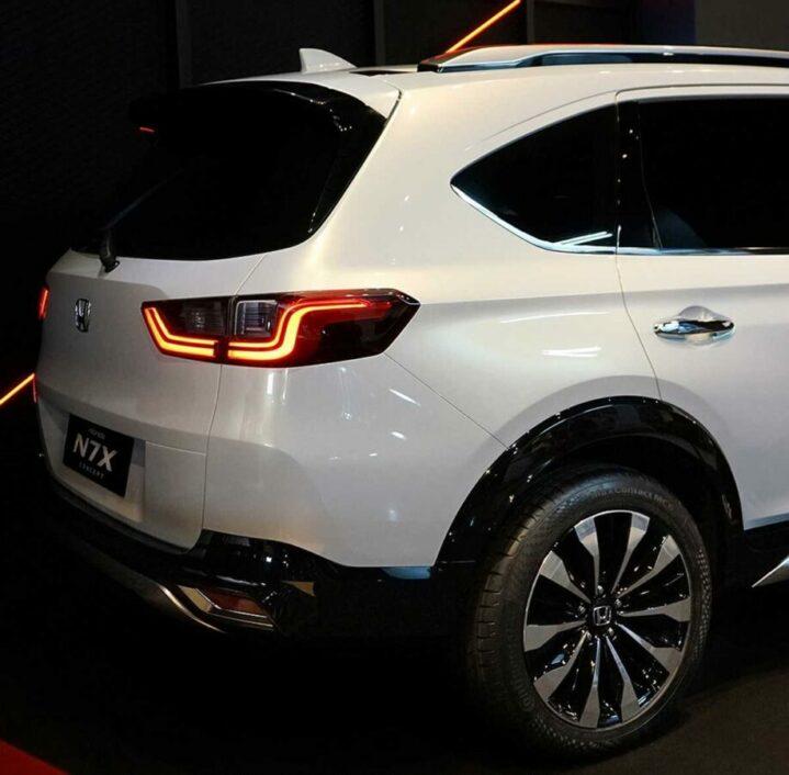 Honda N7X (Next Gen BR-V) Real World Images & Details 1