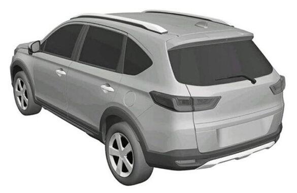 Honda N7X (Next Gen BR-V) Patent Drawings Leaked 8