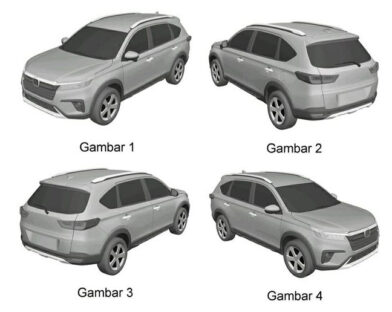 Honda N7X (Next Gen BR-V) Patent Drawings Leaked 1