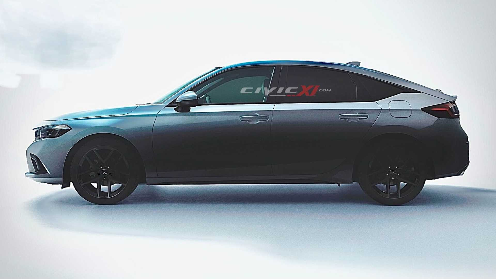 2022 honda civic hatchback renderings