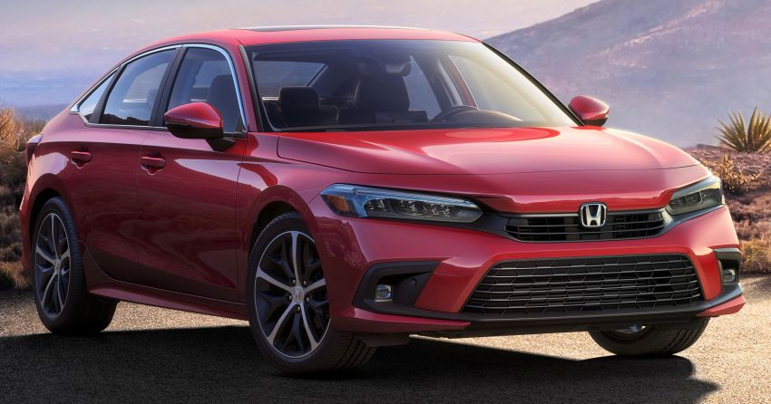 Honda Releases First Official Image of Production-Spec 11th Gen Civic 4