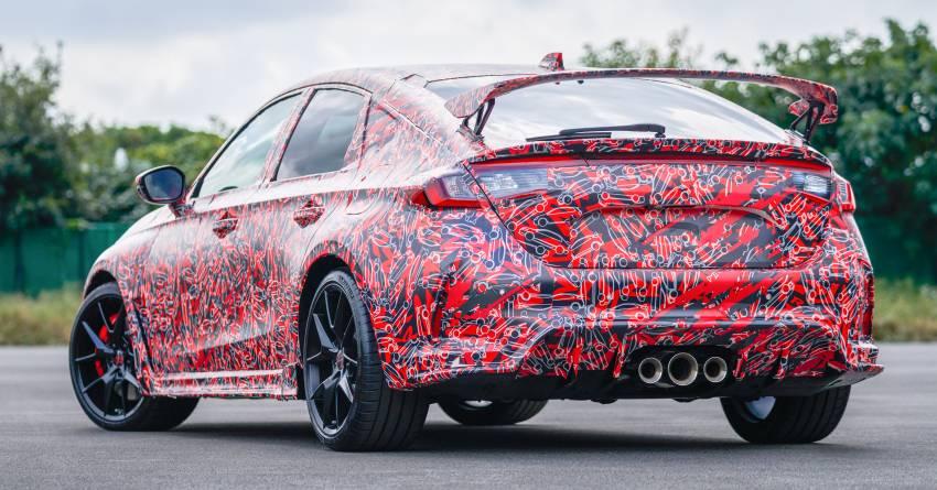 2023 Honda Civic Type R teaser 2 850x445 1