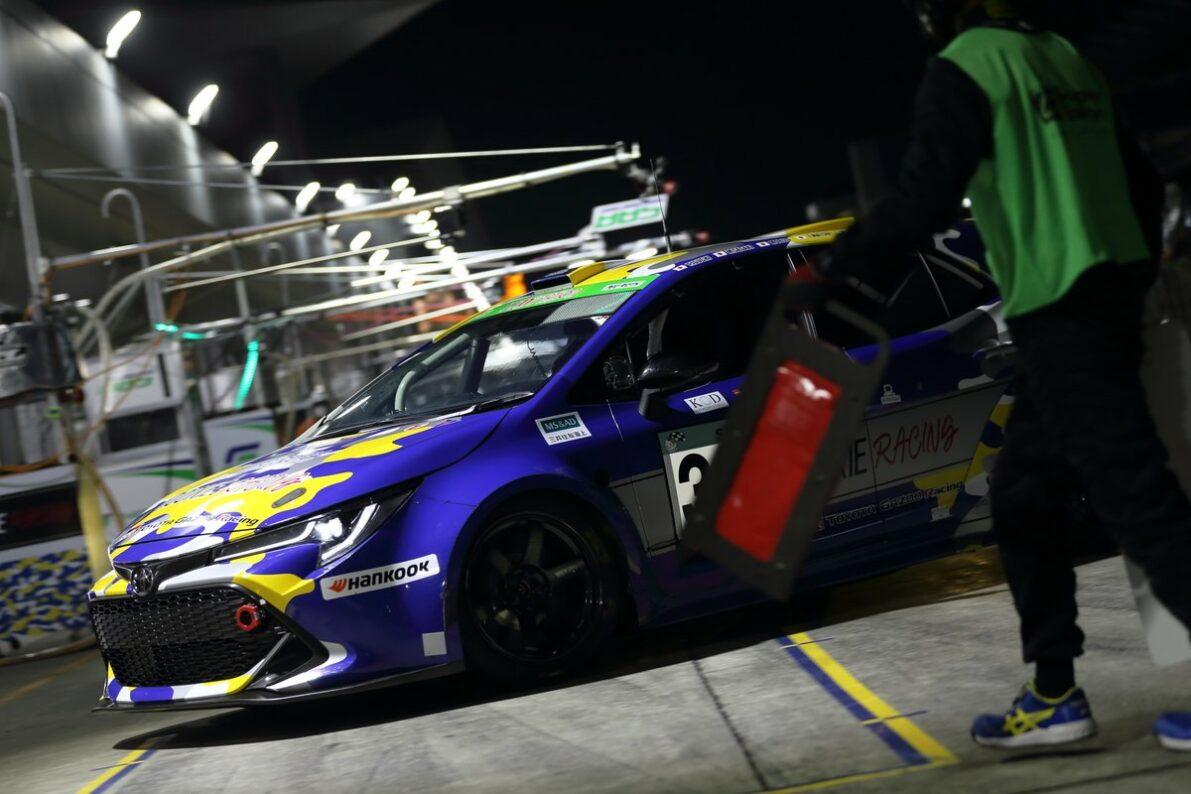 Toyota's Hydrogen Car Makes Successful Debut in Fuji 24 Hours Enduro 4