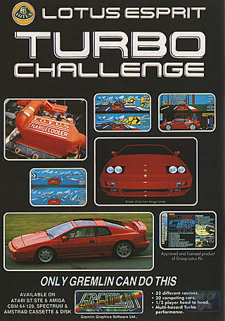 Remembering The Classic 'Lotus Esprit Turbo Challenge' Game 1