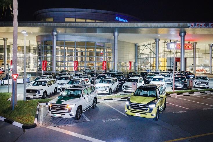 All New Toyota Land Cruiser Added to Dubai & Abu Dhabi Police Fleets 1