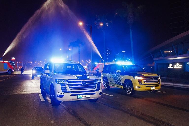 All New Toyota Land Cruiser Added to Dubai & Abu Dhabi Police Fleets 4