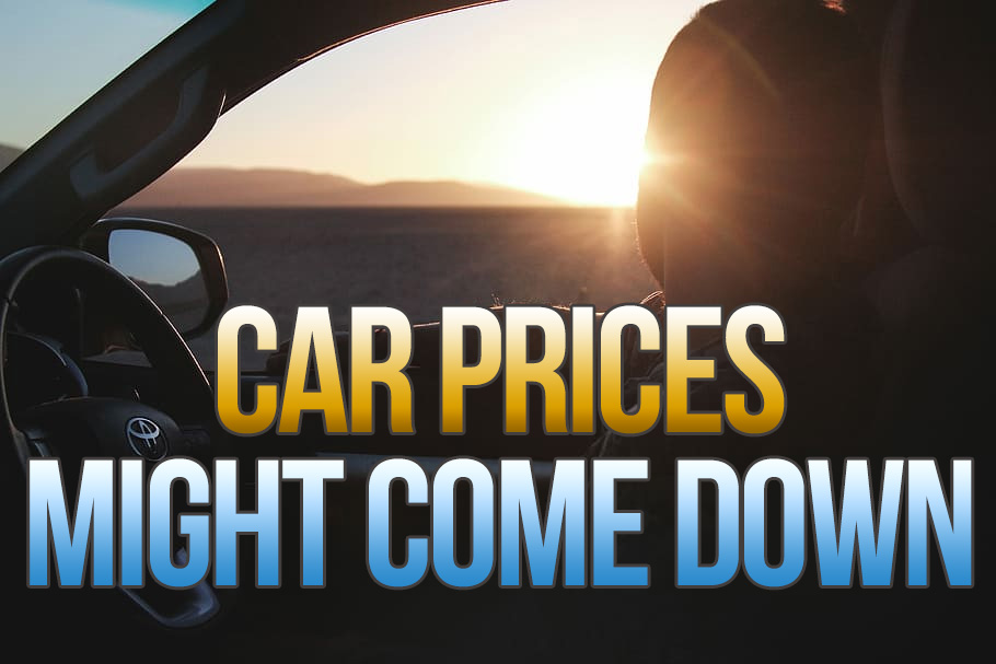 Car Prices Might Come Down 2