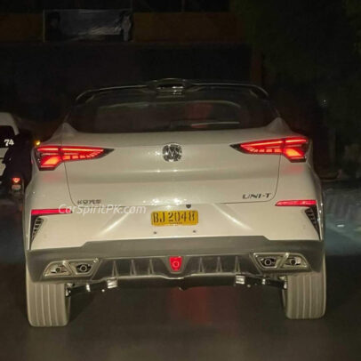 Changan UNI-T, Hunter and Oshan X7 Spotted in Karachi 2