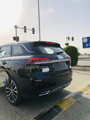 Changan UNI-T, Hunter and Oshan X7 Spotted in Karachi 14