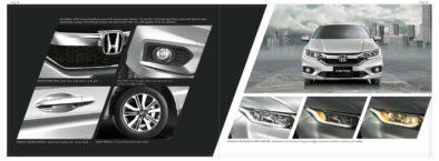 6th Gen Honda City Brochure Leaked Ahead of Launch 2