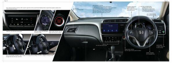 6th Gen Honda City Brochure Leaked Ahead of Launch 4