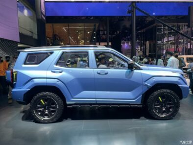 GWM Tank 400 Revealed as Toyota Fortuner Rival 2