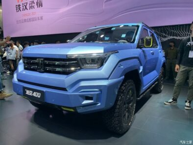 GWM Tank 400 Revealed as Toyota Fortuner Rival 12