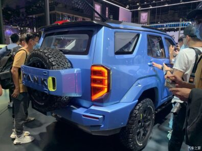 GWM Tank 400 Revealed as Toyota Fortuner Rival 4