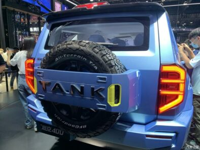 GWM Tank 400 Revealed as Toyota Fortuner Rival 5