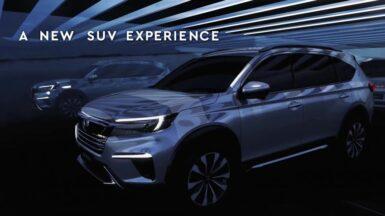 Honda N7X (Next Gen BR-V) Real World Images & Details 5